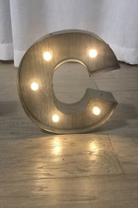 Marquee Letter C New Westminster, V3M 2R3