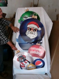 Pepsi advertising 3D xmas cut out Edmonton, T5L 4A5