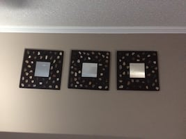 IKEA decorated mirrors - Set of 3