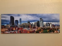 Denver City Skyline Canvas!!!!! Denver, 80203