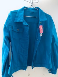 Bright blue jean jacket  Toronto, M1L