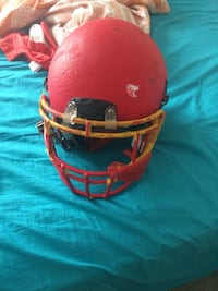 red football helmet 58 km