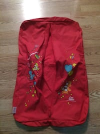 Care Bears Vintage Garment/Travel Zip-up Bag 1983 American Greetings Excellent Condition Granger