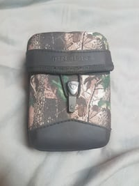 Brown and green tree camouflage T-reign pouch