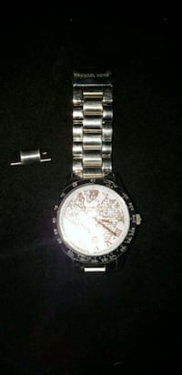 AUTHENTIC MICHAEL KORS ROSE GOLD TWO TONE WATCH  3165 km