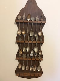 Collection of spoons with racks  542 km