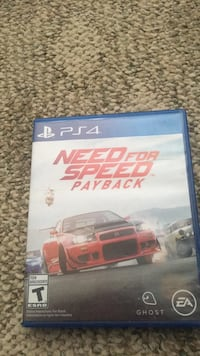 need for speed payback for ps4 and game case Martinsburg, 25401