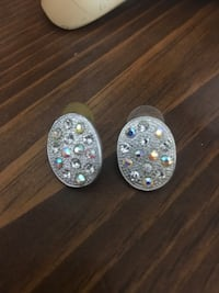 Jewelled Oval Costume Earrings Toronto, M3H 6A6