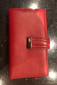 Very Stylish Bright Red Wallet Toronto, M5M 1J2
