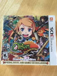 Etrian Mystery Dungeon 3ds  Langley, V2Y 1B5