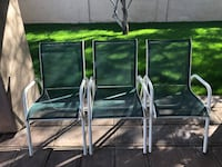 3 outdoor chairs  Scottsdale, 85260