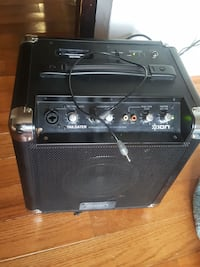 black and gray guitar amplifier Falls Church, 22046