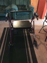Black and gray rollator walker Imperial, 92251