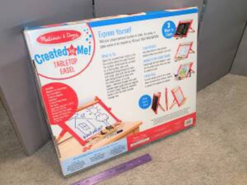 ~ Brand New ~ Melissa and Doug double sided table top easel 02135678-a586-492b-87fe-efc9ac538513