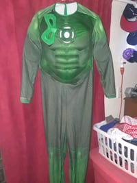 GREEN LANTERN HALLOWEEN COSTUME (ADULT SIZE LARGE St. Catharines