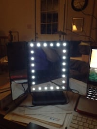 LED Vanity Mirror. 1X, 5x, 7X, 10 X.  Price negotiable but low ballers will be ignored. 24 mi