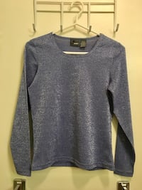 Women's LizWear sparkly top size small petite Toronto, M2M 4H9