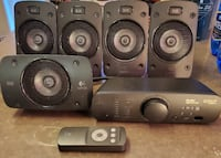 Logitech Z906 5.1 Surround Sound Speaker System with THX Sound (980-00 Toronto
