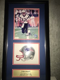 NFL player photo with black wooden frame Somerset, 02726