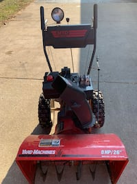 Snow blower with electric start  Caledonia, 53404