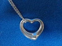 TIFFANY STERLING SILVER HEART NECKLACE Kirkwood, MO 63122, USA