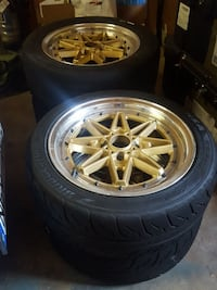 Drag Wheels DR20 set 4X100