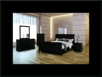 11pc black bedroom set Ashburn