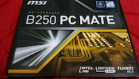 Brand New MSI Motherboard B250 PC Mate Vaughan, L4L 8K5