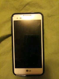 white LG Android smartphone and black case Granite City, 62040