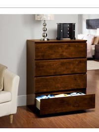 Brand New Hometrends Four Drawer Chest