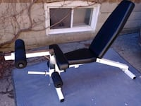 black and white exercise equipment Toronto, M6A 1M7