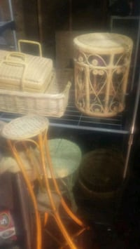 Wicker furniture and collection