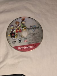 PS2 game  Kingdom Hearts no case Fontana