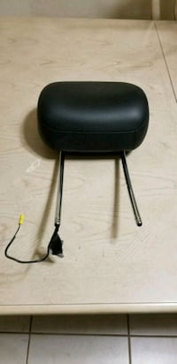 black leather padded rolling chair Naples, 34117