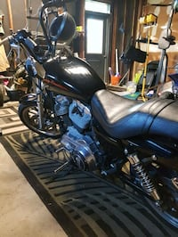 black and gray cruiser motorcycle Halton Hills, L7G 4S6