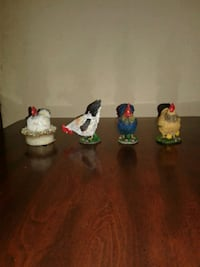 4 Piece Mini Roster Decor Florence, 35630