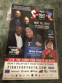 11 by 17 Mike Tyson with George Chuvalo Toronto, M5V 0H8