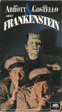 Abbott and Costello Meet Frankenstein VHS 1991 Tested Works  Pick-up in Newmarket 581 km