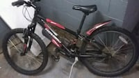 black and red hard tail mountain bike Annandale, 22003