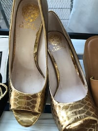 pair of brown leather pumps Kahului, 96732