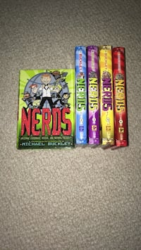 NERDS book series Gaithersburg, 20878