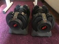 Weights - Bowflex Washington