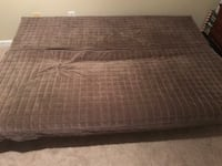 IKEA futon removable and washable cover and 3 pillow cases queen size mattress Monroe