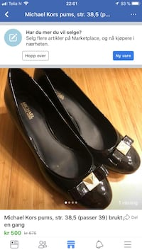 Michael Kors pumps str. 38,5 (39) 6215 km