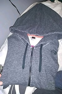 THE NORTH FACE /GREY/ ZIP-UP HOODIE.