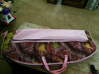 Pink camo kids compound bow case with tomcat bow Greeley, 80631