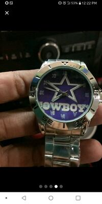 lady's Dallas Cowboys watch Louisville, 37777