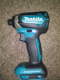 MAKITA BRUSHLESS IMPACT-NEW! W/NEW 6.0  BATTERY