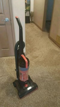 black and red upright vacuum cleaner Chestermere, T1X 1S5