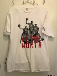 Toronto Raptors We The North tee shirt size L